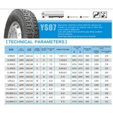 BIS de TBR pneu pneu 825R20 900R20 1000r20 1100r20