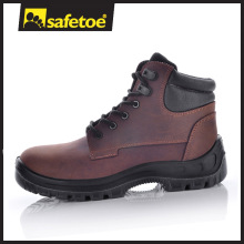 Cow Nubuck Leather Insulating Dielectric TPU Sole Safety Boots