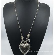 Collar de cadena larga de corazón Big Ccb (XJW13768)
