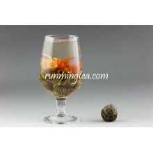 Hong Hong Huo Huo (Red Lily's Love) blooming tea