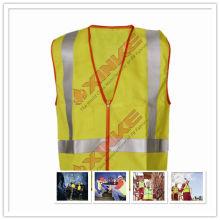 EN11611 uniforme de protección contra incendios con color de alta visibilidad