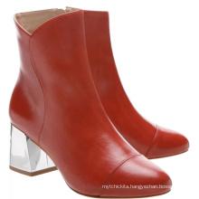 italian make large size winter fuzzy boot