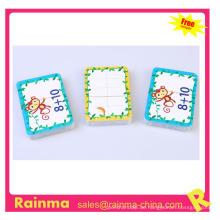 Papier Cartoon Spielkarte für Kinder
