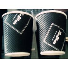 Benutzerdefinierte Welligkeit Wall Paper Kaffeetasse