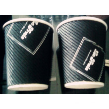 Custom Ripple Wall Paper Coffee Cup
