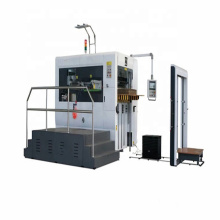 Carton box die cutter and creasing full Automatic making packaging machine