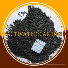 3.0 4.0mm de carvão ativado em coluna para filtro de gás / ar