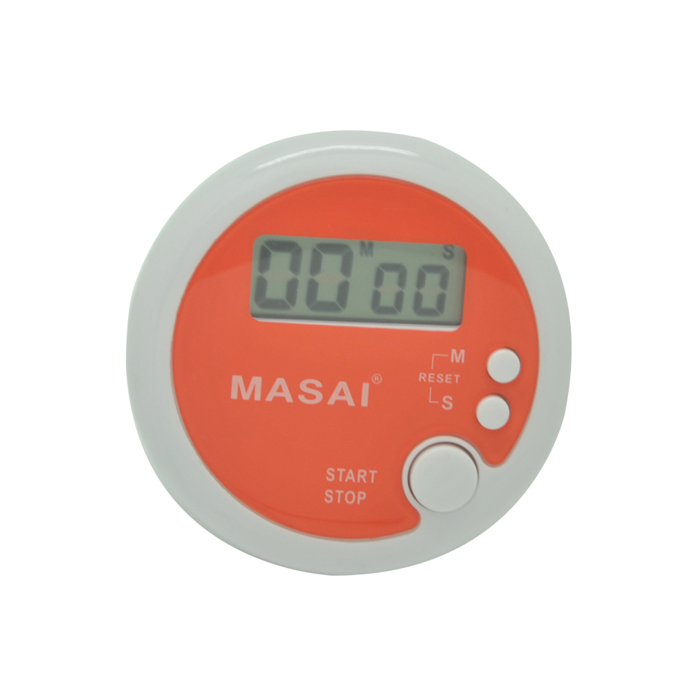 Round Magnetic LCD Digital Kitchen Countdown Timer