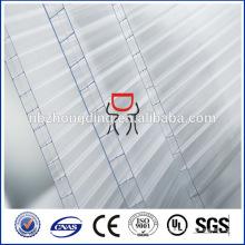 16мм/18мм/25мм тройной стены пластиковых поликарбоната полый лист сота