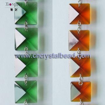 Kristall-Kronleuchter Perlen Kette