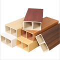 2021 Hot sale engineered wood lumber, wpc hollow wood timber tube for indoor, outdoor decoration
