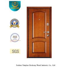 Porta de aço da segurança do estilo chinês para a entrada com cor amarela (L2-1001)