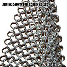 Ss Wire Stainless Steel Ss316 8x6 Inch Chainmail Scrubber