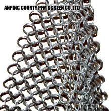 Ss316 de aço inoxidável Ss316 8x6 polega de borracha Chain Scrubber