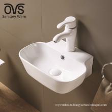 populaire design blanc moderne salle de bains sanitaire montage mural évier
