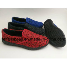 Hot Sale Canvas Sport Shoes, Injection Leisure Shoes for Men, Breathable Slip-on Canvas Shoes