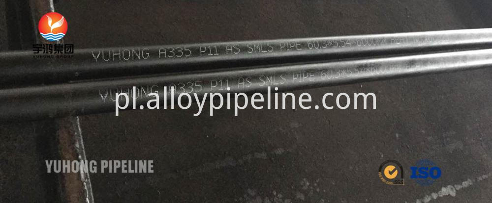 ASTM A335 P11 Alloy Steel Seamless Pipe