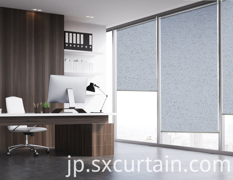 Jacquard Blind Curtain Shade Dyed