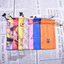 Bolsas de gafas de sol Microfibra de impresión digital