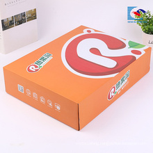 Hot selling custom toys packaging corrugated paper box wholesale
