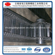 Rubber Corrugated Belt with Sidewall Used in Industrial