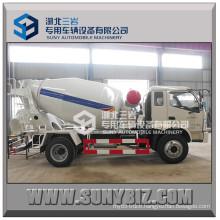 Forland Rhd LHD 3m3 5m3 6m3 Mini Concrete Mixer Truck