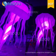 Event Stage Wedding Party Decoration RC Lighted Inflatable Jellyfish