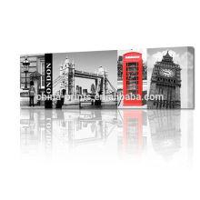 Pintura en 3D del puente de la torre de Londres