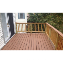 WPC Outdoor Flooring Wood Plastic Composite Decking