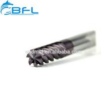 BFL Ultra Micro Grain 6-Nuten-Schlichtfräser, extra lange Ausführung