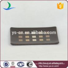 YSb50073-01-sd design moderno cerâmica sabonete de banho prato produtos