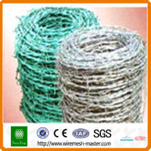 packing for barbed wire in fencing