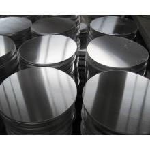 Placa circular de alumínio 3003