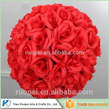 Hot new products for Artificial red rose balls for weddings