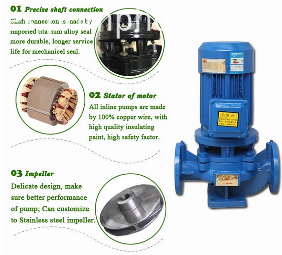 vertical water pump