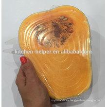 Great Sell FDA & LFGB Estándar de silicona de sellado de tapa / tapa de silicona Pot Cover / Silicone de succión tapa