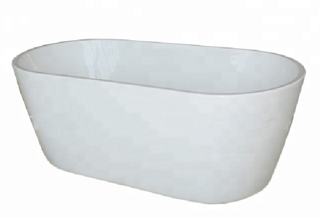 Freestanding Bathtub Centre Drain