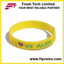 Pulseira de silicone Silicone Wristband