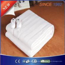 Cobertor elétrico de poliéster de 100% com novo temporizador de 10 horas