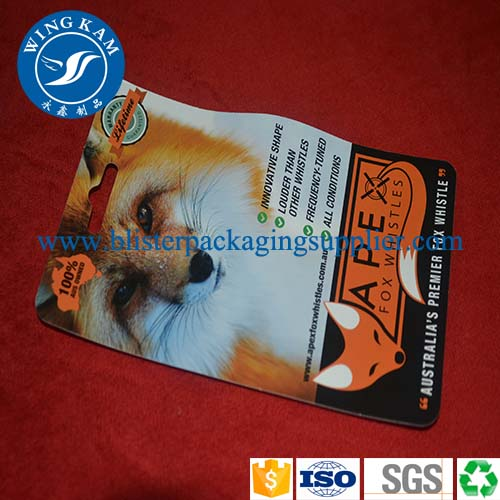 customized slide card packaging