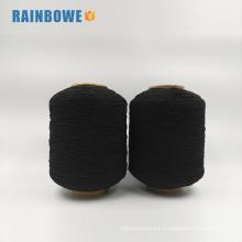 Grano cubierto de goma del negro del látex del coloful de Spandex de la fábrica del grado de la venta al por mayor del AA