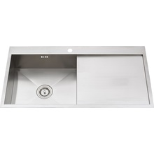 S1218 304 # S. S Single Bowl Handmade Sink Topmount