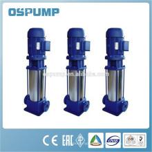 hochwertige vertikale mehrstufige Pumpe Edelstahl Material
