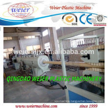 Recycling PVC tubes pipes extrusion machine line