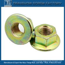 Carbon Steel Smooth Flange Nut