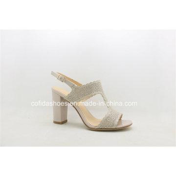 2017 New Fashion High Heel Ladies Dress Sandal Shoes