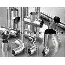 Acessórios de tubos soldados de aço inoxidável polido
