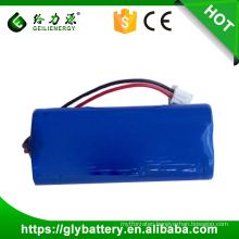 14650 Rechargeable 7.4v lithium ion battery pack li-ion battery 7.4v 1000mah