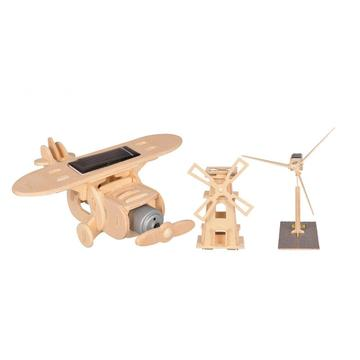Toy  DIY Solar Powered Kit 3 Styles