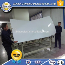 plexiglás de leche de venta directa de fábrica de 5 mm